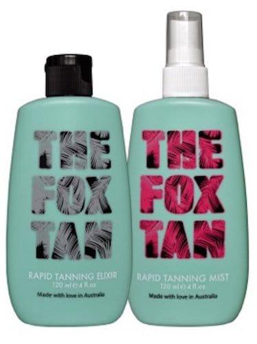 The Fox Tan Kit For Men